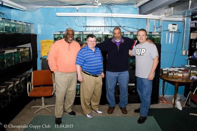 Chesapeake Guppy Club Members