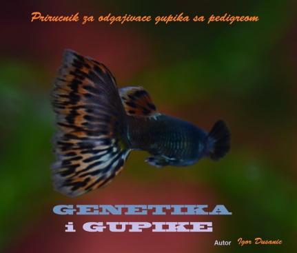 Prirucnik za odgajivace gupika gupija sa pedigreom genetika i gupike