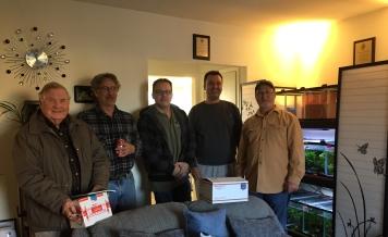 Bill Soewers, Allen Longest, Steve Mutzel, me and Tom Joffred
