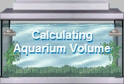 Calculating Aquarium Volume